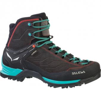 Salewa MTN Trainer Mid GTX®  Wander- und Trekkingschuh Magnet / Viridian Green Damen