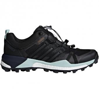 Adidas Terrex Skychaser GTX®  Approachschuh Core Black / Ash Green Damen