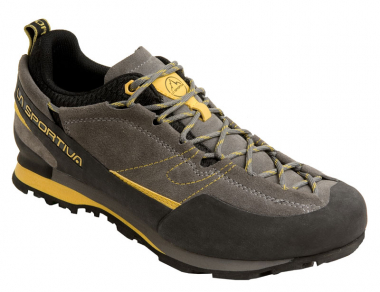 La Sportiva Boulder X   Approach Shoes Grey / Yellow Men