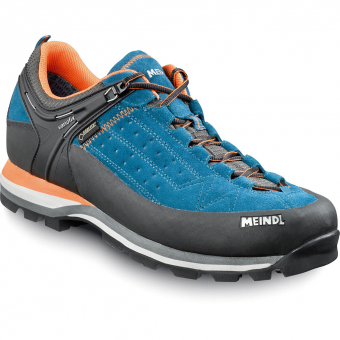 Meindl Lite Rock GTX®  Approachschuh Blau / Orange Herren