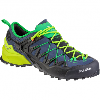 Salewa Wildfire Edge  Approach Shoes Ombre Blue / Fluo Yellow Men