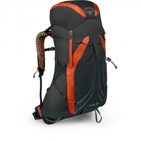Osprey Exos 38  Backpack Blaze Black