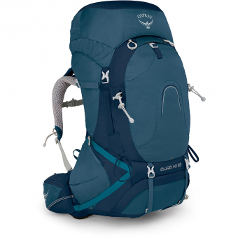 Osprey Aura AG 65  Backpack Challenger Blue Women
