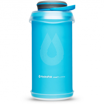HydraPak Stash 1l  Bottle Malibu