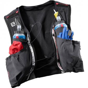 S/LAB Sense Ultra 5 Set  Running Backpack Black / Red