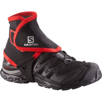 Salomon Trail Gaiters High  Gamaschen Black