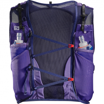Salomon Adv Skin 12 Set   Laufrucksack Purple