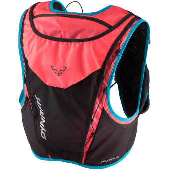 Dynafit Ultra 15  Running Backpack Fluo Pink / Methyl Blue