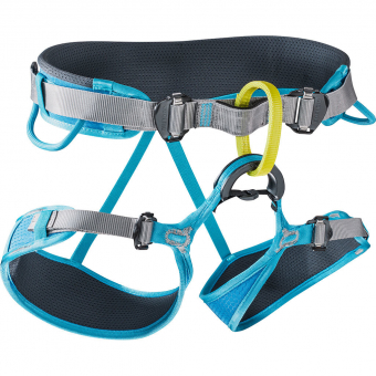 Edelrid Duke II  Harness Turquoise/Slate Men