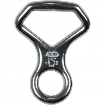 CT Fig 8 Otto  Curved Descender Silver