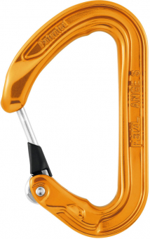 Petzl Ange S  Carabiner Orange