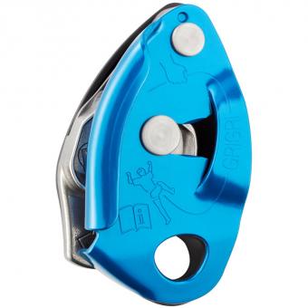 Petzl Grigri®  Halbautomat Blau