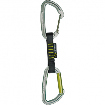 Edelrid Slash Wire 10cm  Quickdraw Night-Oasis