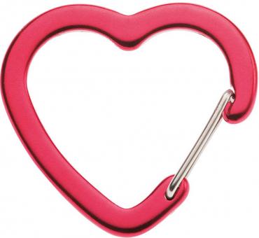 Edelrid Corazon Heart   Carabiner for Equipment Rot