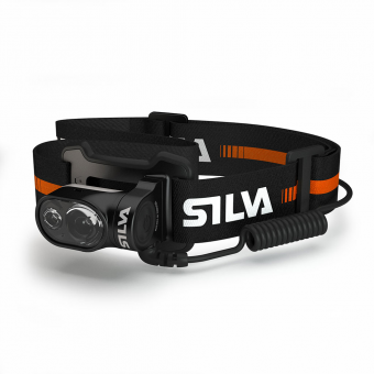 Silva Cross Trail 5  Stirnlampe Black / Red