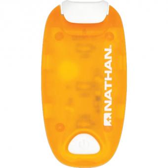 Nathan Strobelight LED Clip  Lauflicht Orange
