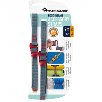 Sea To Summit 10mm/2m  Accessory Straps Red