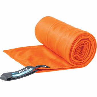 Sea To Summit Pocket 50cm x 100 cm  Handtuch Orange