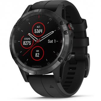 Garmin fénix 5X Plus Sapphire Edition  Sports Watch Black