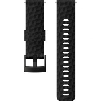 Suunto 24mm Explore 1 Silikonarmband für  Sportuhr Black