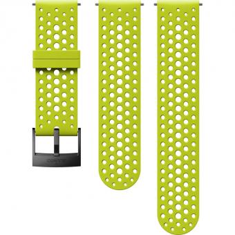 Suunto 24mm Athletic 1 Silicone Strap für  Sportuhr Lime / Black