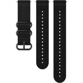 Suunto 24mm Explore 2 Textile Strap for  Sports Watch Black
