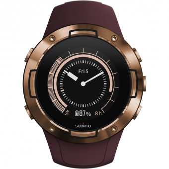 Suunto 5  Sportuhr Burgundy Copper