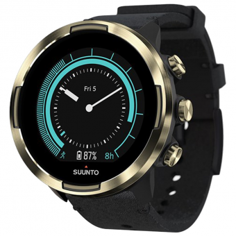 Suunto 9 Baro  Sports Watch Gold Leather