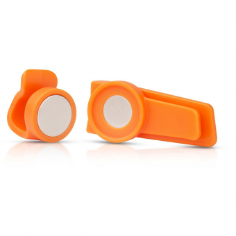 Source Magnetic Clip   Hydration System Accessory Orange
