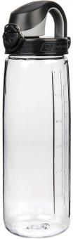 Relags Nalgene OTF 0,7 L  Bike Flasche Transparent/Schwarz