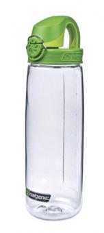 Nalgene Everyday OTF 0,7 L   Bike Flasche Transparent/Green