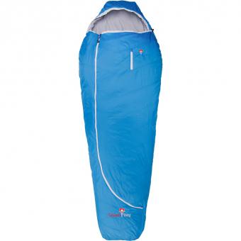Grüezi Bag Biopod Wolle Plus  Wollschlafsack Imperial Blue