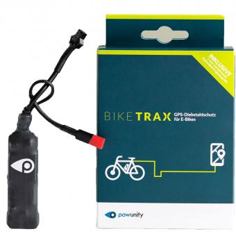 Powunity BikeTrax E-Bike GPS Diebstahlschutz Bosch  Schloss