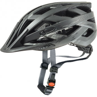 Uvex i-vo cc  Bikehelm Black / Smoke Mat