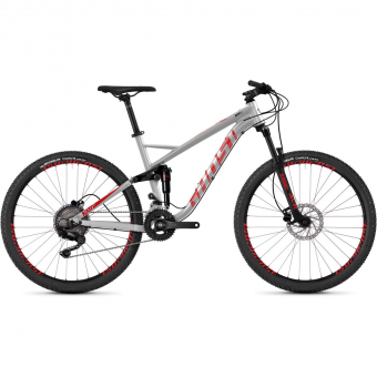 Ghost Kato FS 2.7 AL  Mountainbike Gray / Riotred / Jetblack Men