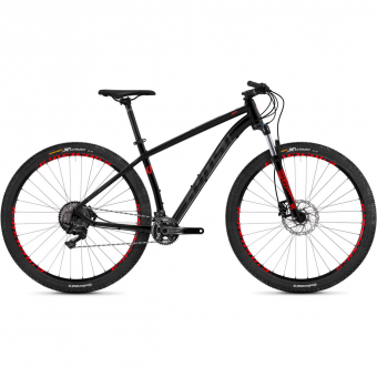 Ghost Kato 9.9 AL  Mountainbike Nightblack / Titanium / Riotred