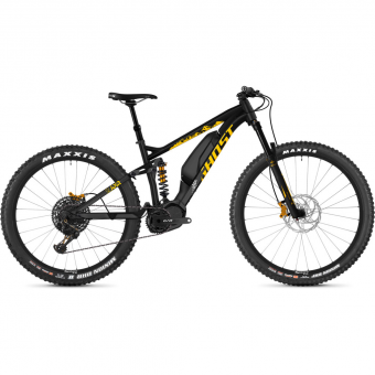 Ghost SL AMR S3.7+ AL  E-Bike Nightblack / Spectyellow / Gray