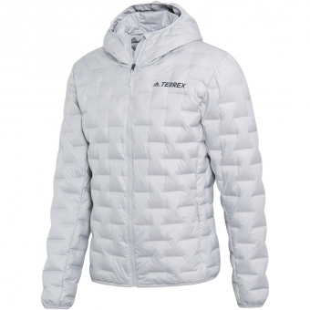 Adidas Terrex Light Down Hood  Jacke Grey Two Herren