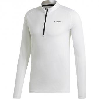 Adidas Terrex Trace Rocker Halfzip  Langarmshirt White Herren