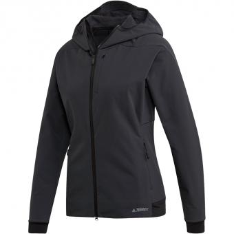 Adidas Terrex Climaheat Ultimate Hooded   Fleecejacke Carbon Damen