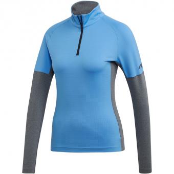 Adidas Terrex Xperior  Langarmshirt Real Blue / Dark Grey Heather Damen