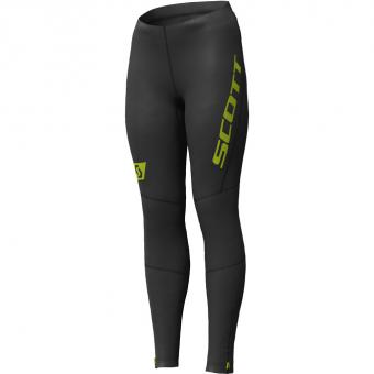 Scott RC Run Full  Tights Black-Yellow Damen