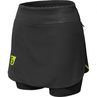 Scott RC Run Skort  Shorts Black / Yellow Damen