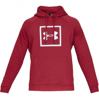 Under Armour UA Rival Fleece Logo  Hoodie Red Men