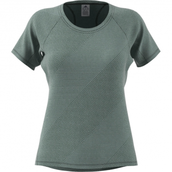 Adidas Jacquard   T-Shirt Legend Ivy Damen