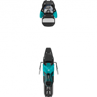 Salomon Warden 11 incl. Stopper  Skibindung Turquoise / Black