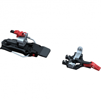 ATK Crest 10 incl. Stoppers  Alpine Touring Bindings Schwarz / Rot / Weiß