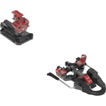 ATK Raider 12 2.0 incl. Stoppers  Alpine Touring Bindings Schwarz / Rot