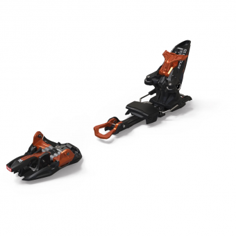 Marker Kingpin 10 incl. Stoppers  Alpine Touring Bindings Black Copper