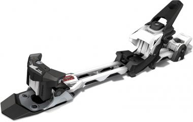 Hagan Z 02 Junior inkl. 87mm Stopper  Tourenskibindung Black/White